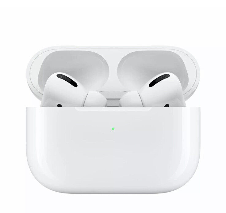 AirPods Pro With Wireless Charging Case - White - - Free Case