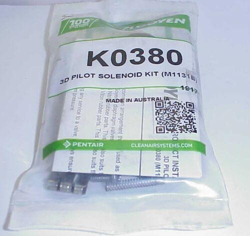 GOYEN K0380  3D PILOT SOLENOID KIT M1131B  --MISSING CLIP-- *FREE SHIPPING*