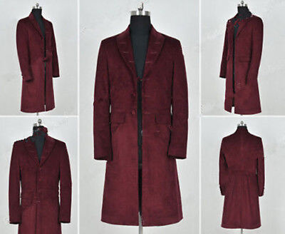 Doctor Who 4th Fourth Dr Cosplay Costume Trench Coat Party Costumes - Costumes Doctor Who
