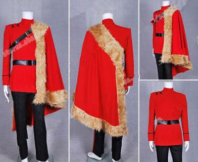 Hot! Cosplay ViKtor Krum Costume Outfits Full Set Jacket FF.143](Viktor Krum Costume)