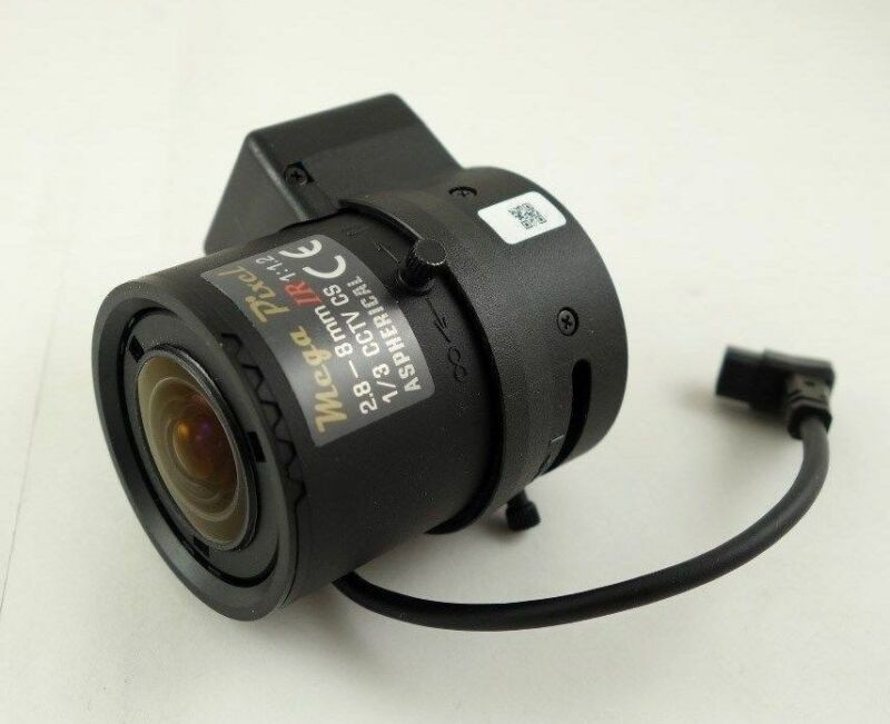 Tamron M13VG288IR Axis 5800-661 2.8-8mm Megapixel 3MP CS DC IR CCTV Camera Lens