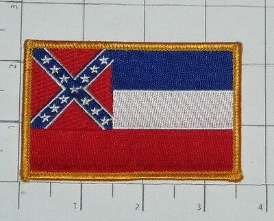 Mississippi Flag Patch - Travel Souvenir