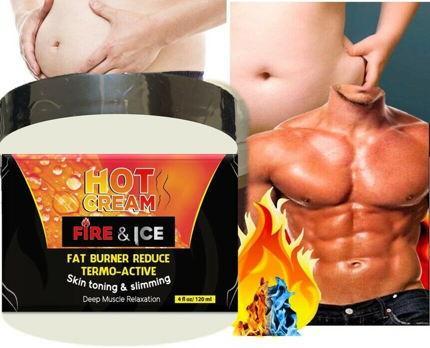 For Body Naturals Hot Cream for Cellulite Reduction Skin Toning and Slimming 2
