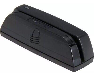 Magtek Usb Magnetic Creditdebit Triple Track Swipe Black Card Reader 21073062