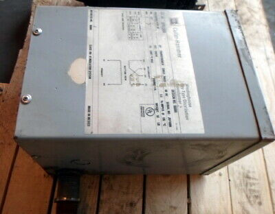 Cutler Hammer S27n11503n 3r 1 Ph 3 Kva 277 V Fr 176 Dry Distribution Transformer