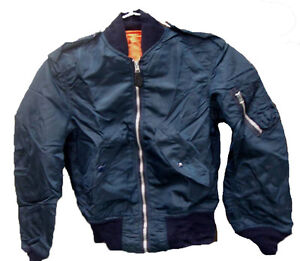 Alpha Industries L2B Air Force Navy Blue Jacket XS