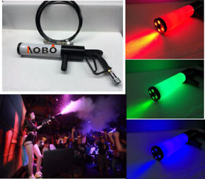 handheld Led co2 gun RGB Jet machine Special Effects co2 Cannon