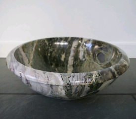Stunning solid marble basin(s)