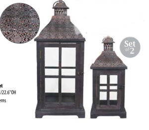 BRAND NEW Moroccan Lantern Set