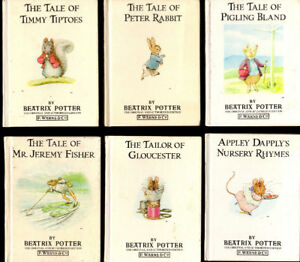 17 Mini Beatrix Potter Books