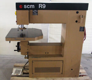 Used Overhead Pin Router - SCM R9 - REF# 1870BM