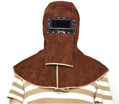 Safety Protector Cap Leather Welding Hood Helmet Welder Mask