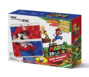 New 3ds, Version Mario 3d land, PARFAITE ÉTAT