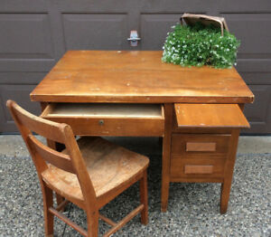 Old School Desk - $110 OBO, have to get out of my garage.