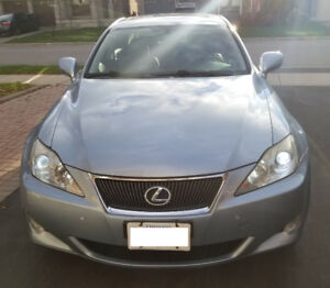 2008 LEXUS IS 250 AWD – VERY LOW KM & VERY CLEAN