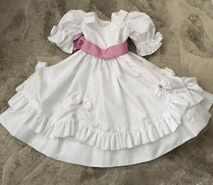 Custom-made FLOWER GIRL DRESS 3X-4