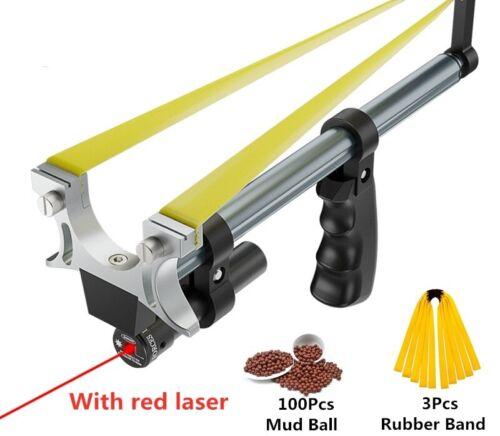 Straight High Precision Telescopic High Power  Laser Hunting Catapult Slingshot