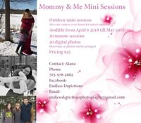 $45 mommy and me  mini sessions
