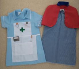 Nurses dressing up costumes, age 3-5