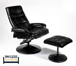 NEW ★OFFICE CHAIR ★ BLACK LEATHERETTE ★ Can Deliver Kitchener / Waterloo Kitchener Area image 2