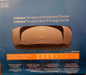 Linksys Wireless-N Broadband Router by CISCO