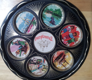 Vintage Disney tin serving drink tray, excellent condition