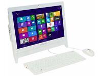 "NEW Desktop All in One Lenovo C20 / SCREEN 19,5""/ QUAD CORE 2.64 GHz/ 4 GB RAM/ 1 TB HDD- WIN 10"