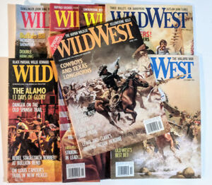 Wild West Magazines - Back Issues 1996/2000