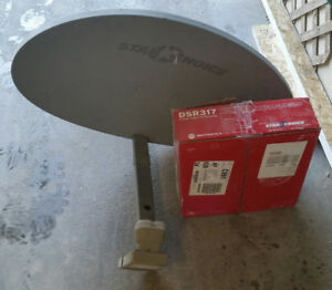 Star choice satellite  dish and receiver