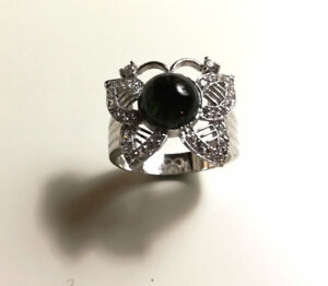Tourmaline Butterfly Ring #16