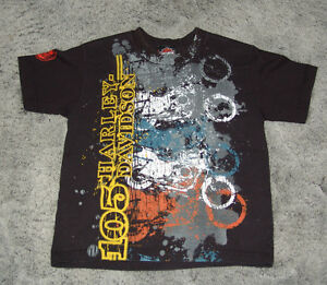 Harley Davison T-Shirt Youth Medium 105th Anniversary 2008