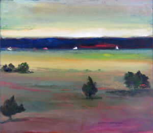 Original Landscape Oil Painting by known NS Artist