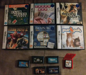 Nintendo DS Games & Gameboy Advance Games