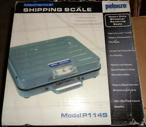 SHIPPING SCALE AS SHOWN IN PICTURE.  LIKE BRAND NEW.  NEVER USED