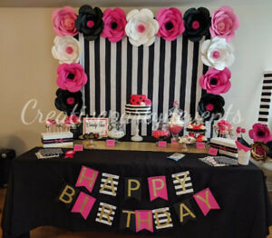 DECORATIONS FOR ANY EVENT!