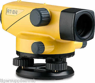 Topcon At-b4aps Automatic 24x Auto Level Surveying 60909 With Aluminum Tripod