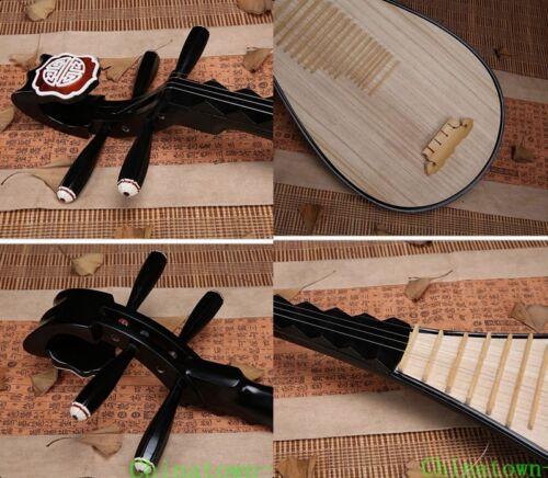 Liuqin - Chinese Soprano Pipa Lute Guitar Xinghai Musical Instrument #4125