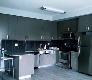 Beautiful and new 3 Bedroom+2 Den townhouse, fully-furnished