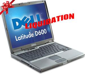 ★ ★ ★  LIQUIDATION Laptop Dell D610 à 69 $  ★ ★ ★