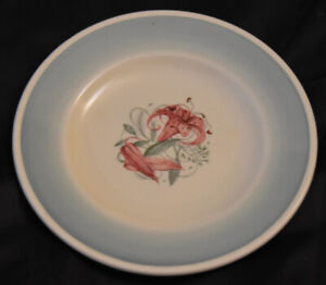 Vintage Susie Cooper 15 cm Side Plate in the Tiger Lily Pattern