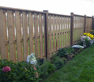 ROB'S POST HOLES and WOOD FENCE