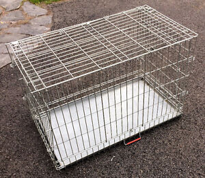 PET CAGE FOLDING METAL W/TRAY 36''LONG 21'' WIDE 24'' HIGH $30.