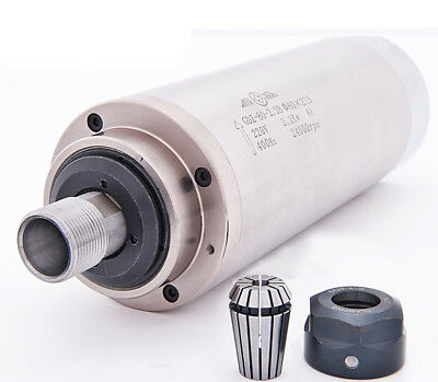2.2kw Spindle Motor Engraver Spindle 80mm For Cnc Router Mill Machine 220v