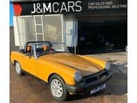 1976 MG MIDGET 1500 Convertible Petrol Manual