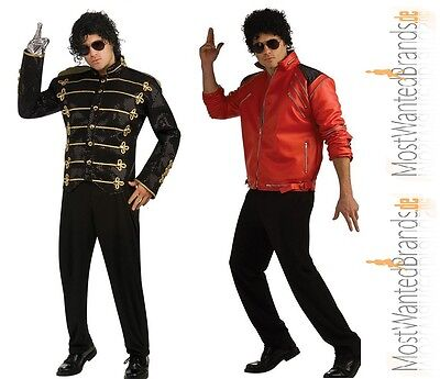 Michael Jackson Deluxe Military Jacket * Beat It Jacke * rot oder schwarz * KING online kaufen