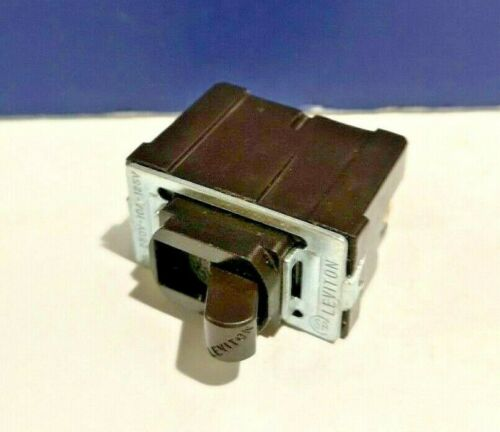 2-PK Leviton BROWN DESPARD Interchangeable Single Pole Toggle Switch 1750 MINT