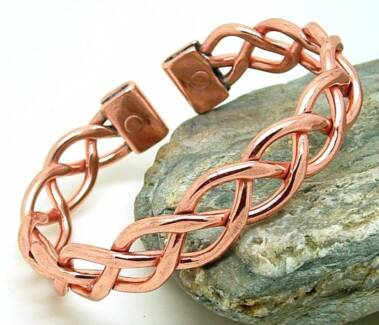 Magnetic Copper Heavy Lace Bracelet For Arthritis Pain Relief. Lithgow Lithgow Area Preview