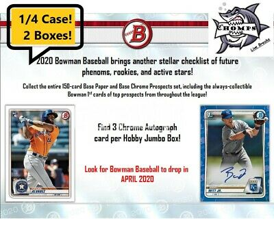 BALTIMORE ORIOLES - 2020 Bowman JUMBO HTA Hobby Baseball 1/4 Case Break #2!