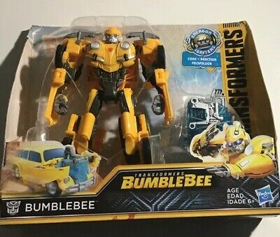Transformers: Bumblebee Movie Toys, Energon Igniters Nitro Bumblebee Act Figure