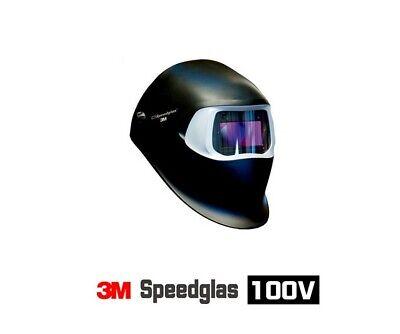 Us  3m Speedglass Welding Helmet 100v With Auto-darkening Filter Shades 8-12